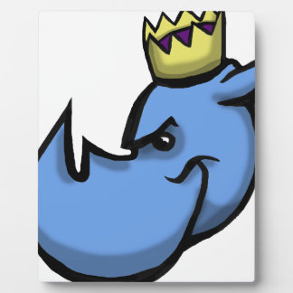 Rhino King team design Plaque