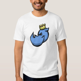 Rhino King team design T-shirt