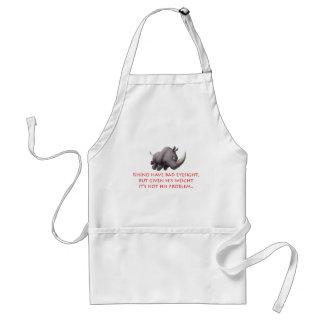 Rhino line adult apron