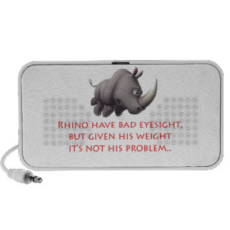 Rhino line iPod speaker