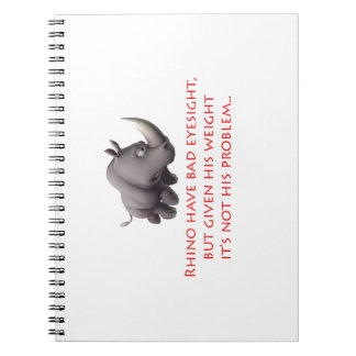 Rhino line note books