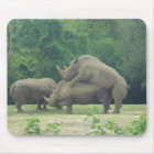Rhino Love Mouse Pad