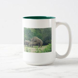 Rhino Love Coffee Mug