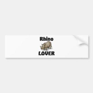 Rhino Lover Bumper Sticker
