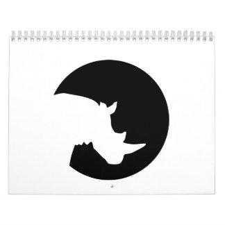 Rhino moon calendar