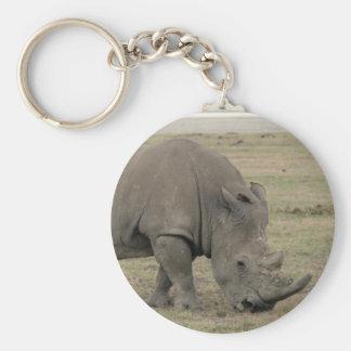 rhino nose keychain