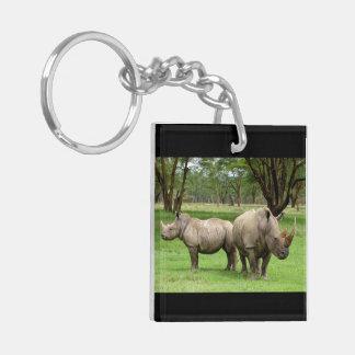 Rhino Office Home Personalize Destiny Destiny'S Keychain