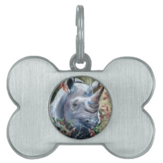 Rhino Pet Tag