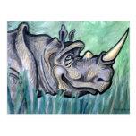 Rhino Postcards
