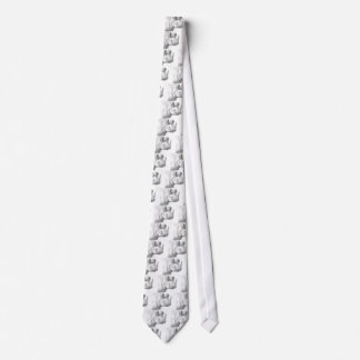 Rhino Rhinoceros Pencil Drawing sketch Neck Tie