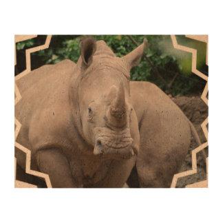 Rhino Romp Photo Cork Paper