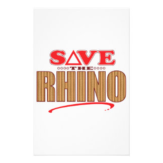 Rhino Save Stationery