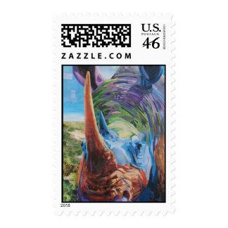 Rhino Stamp