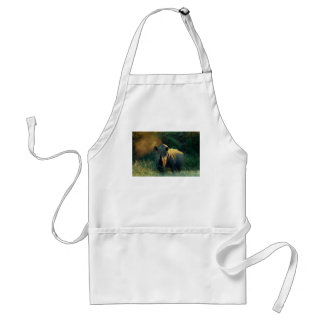 Rhino stare cullinary catering chefs adult apron