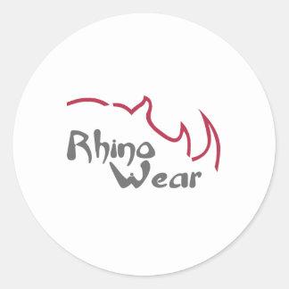 Rhino Wear USA Classic Round Sticker