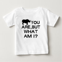 Rhino You Are Baby T-Shirt