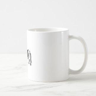 rhino zebra: Wild Mash-Up Coffee Mugs