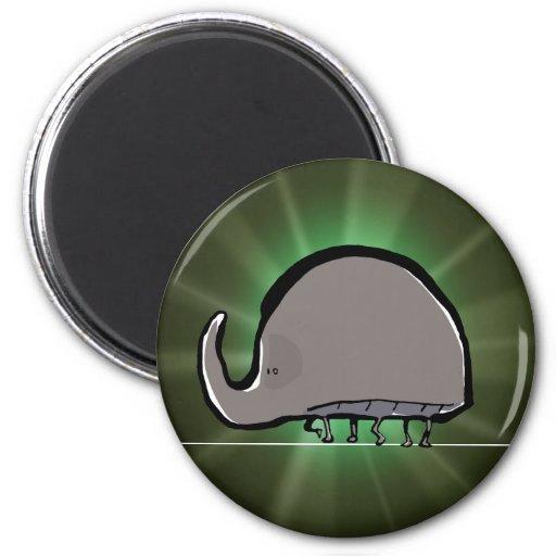 rhinoceros beetle fridge magnet