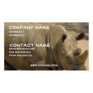 Rhinoceros Business Card