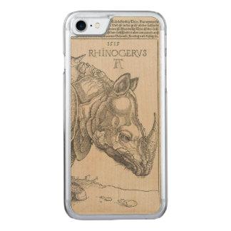 Rhinoceros by Albrecht Durer Carved iPhone 7 Case