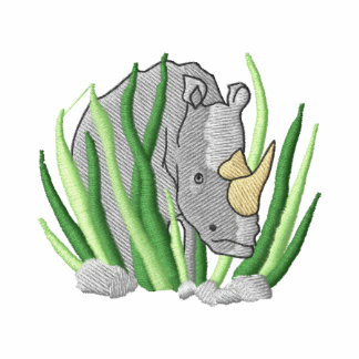 Rhinoceros Embroidered Shirt