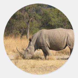 Rhinoceros Family Stickers