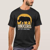 Rhinoceros - Just fat unicorns T-Shirt
