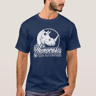 Rhinoceros Just Fat Unicorns T-Shirt