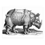 Rhinoceros Post Card