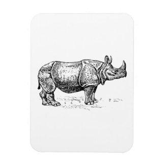 Rhinoceros Rectangle Magnets