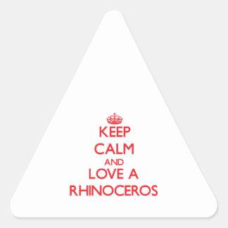 Rhinoceros Sticker