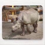 Rhinoceros unicornis mousepad