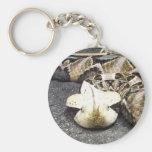 rhinoceros viper keychain
