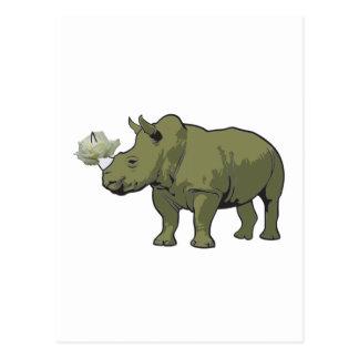 Rhinocerose Postales