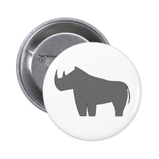 Rhinoceroses - Rhino Buttons