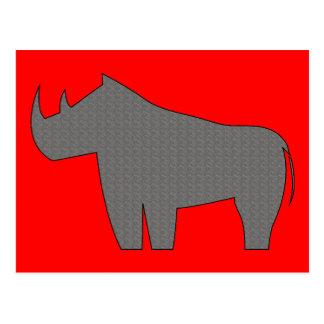 Rhinoceroses - Rhino Postcard