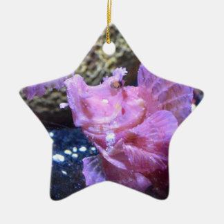Rhinopias Fish Christmas Ornaments