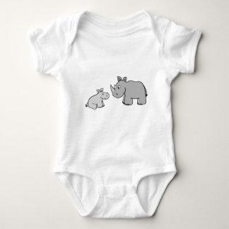 Rhinos Baby Bodysuit