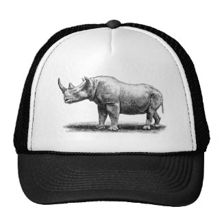 Rhinos del rinoceronte del ejemplo del rinoceronte gorro