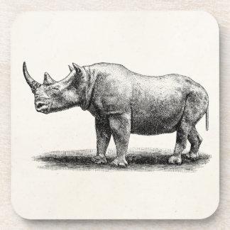 Rhinos del rinoceronte del ejemplo del rinoceronte posavasos de bebidas