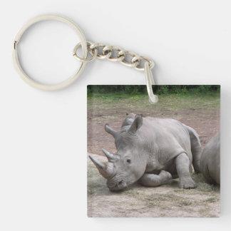 Rhinos Keychain