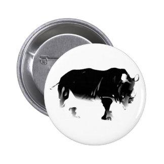 Rhinos Rock 2 Inch Round Button