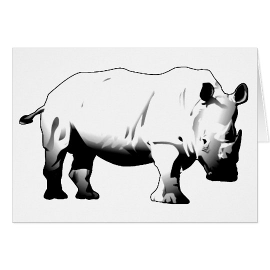 Rhinos Rock Card