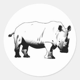 Rhinos Rock Sticker