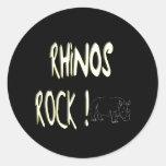 Rhinos Rock! Sticker