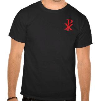 Rho católico de la ji - de bolsillo camisetas