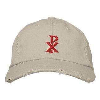 Rho católico de la ji gorra bordada