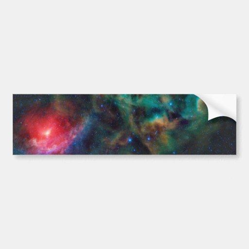 Rho Ophiuchi Cloud Complex Dark Nebula Bumper Sticker