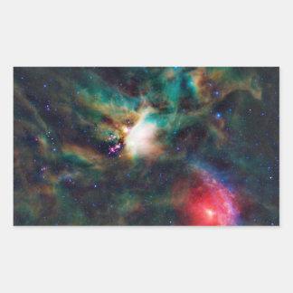 Rho Ophiuchi Cloud Complex Dark Nebula Rectangular Sticker