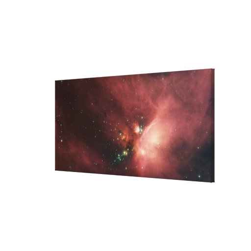 Rho Ophiuchi nebula 2 Gallery Wrapped Canvas